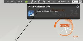 Awn Applets Get Notifications With A Close Button In Ubuntu Web Upd8 Ubuntu