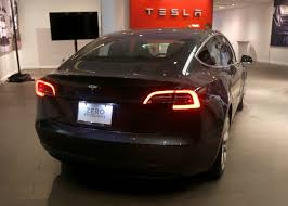 tesla model 3 hits showroom for first time ever u2014 in palo alto