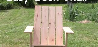 easy adirondack chair woodwork city free woodworking plans
