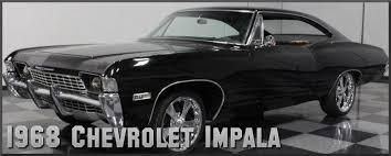 1968 chevrolet impala factory paint colors