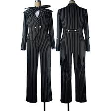 skellington costume nightmare before christmas skellington suit stripe