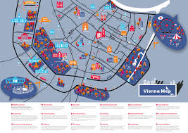Map Of Vienna Great Student Maps From Project Map Creation Summer Semester 2016