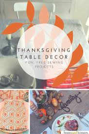 thanksgiving table runner pattern thanksgiving table decor 10 easy sewing projects seams and scissors