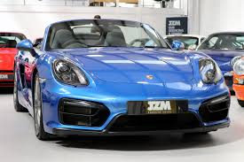 blue porsche boxster used 2015 porsche boxster 981 12 16 for sale in kings langley