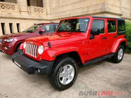 red jeep wrangler unlimited wrangler unlimited diesel price slashed by inr 6 lakh