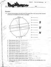earth sun relationship worksheet homework chapter3 earth u2014sun