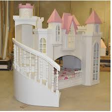 girls low loft bed castle beds for girls vnproweb decoration
