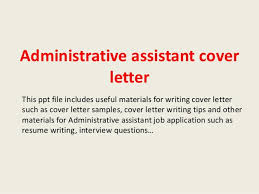 office assisant cover letter entry level administrative assistant