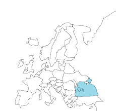 Empty Europe Map by Hilariously Bad Attempts By Americans To Draw Europe From Memory