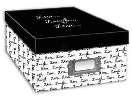 pioneer photo box pioneer photo albums b 1bw photo storage box live