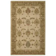 Area Rugs India Nourison India House Ivory Gold 5 Ft X 8 Ft Area Rug 231819