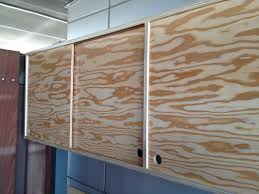 Plywood Cabinets Kitchen Sliding Door Plywood Cabinet By Roberto Gil Red Hook To Cook