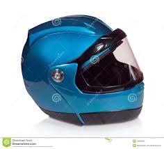 Motorcycle Helmet Lights Motorcycle Helmet Light Blue Stock Photo Image 23658298