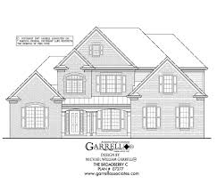 100 federal style home plans prairie style house plans