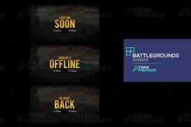 pubg background twitch background screens graphics pack pubg