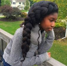 images of french braid hair on black women jumbo french braid hephzibah pinterest french braid natural