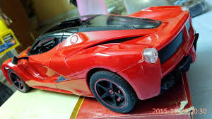 toy ferrari rc la ferrari toy car youtube