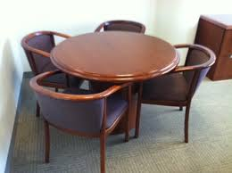 Office Furniture Conference Table Touhy Conference Tables W O Chairs 25 00 Solid Cherry Wood