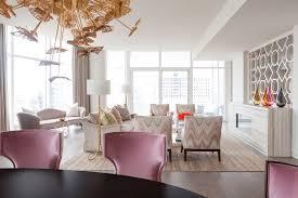 home design dallas apartment in dallas exudes femininity