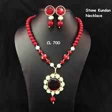 necklace brand images Cl brand kundan onyx stone necklace and earrings set craftlife png