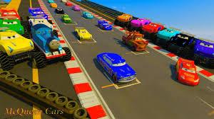 lightning mcqueen monster truck videos cars 3 fabulous hudson hornet cars 3 colors jackson storm fabulous