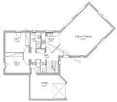 plan de maison en v plain pied 4 chambres plan maison en v plain pied étourdissant plan de maison en u ouvert