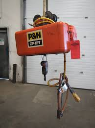 p u0026h zip lift 1 2 ton electric hoist 2 speed and 15 u0027 of lift