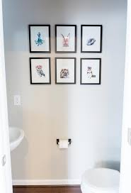 Powder Room Wall Art Powder Room Update 4 Modern Powder Room Makeover On A Budget