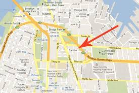 Brooklyn Community Board Map Rambo Appears On Google Maps Is It Now Legitimized Curbed Ny