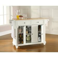 crosley kitchen island cambridge wood top kitchen island white crosley target intended