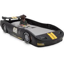 race car beds for girls delta children turbo race car twin bed blue walmart com