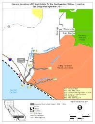 Southwest States Map by Southwest Region Arizona Es Field Office