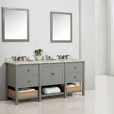 cypress 73 in dove grey forsythe bathroom vanity