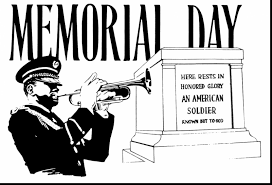 extraordinary memorial day clip art black and white with veterans