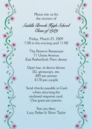 high school class reunion invitations reunion invitation