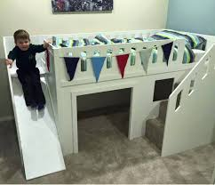 glancing stairs along with superhero bunk beds as wells as stairs