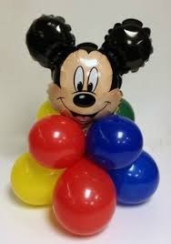 mickey mouse balloon arrangements mickey mouse kids birthday party balloon decorations