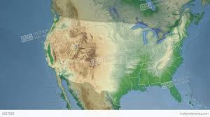 map usa utah utah state usa extruded physical map stock animation 6527928
