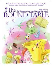 the round table winter 2015 16 by john bapst memorial high