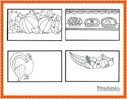 thanksgiving coloring pages place cards thankful cards