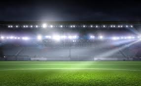 how tall are football stadium lights football stadium in lights stock photo image of playground 72874122
