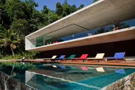 modern beach house architect house interior
