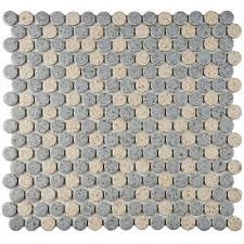 round mosaic tile tile the home depot