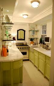 Galley Kitchen Floor Plans Small 47 Best Galley Kitchen Designs Decoholic