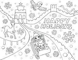 holiday color pages eliolera com