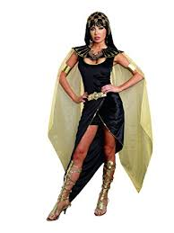 Dreamgirls Halloween Costumes Amazon Dreamgirl Women U0027s Cleo Egyptian Queen Costume Clothing