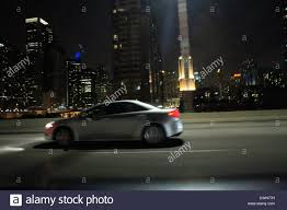 Chicago skyline downtown night lake shore drive travel tourism