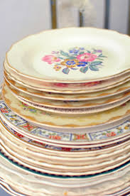 mismatched plates wedding china wedding dinnerware fashion dresses