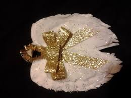 coffee filter wings ornament allfreechristmascrafts