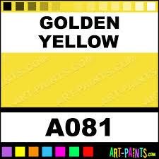 golden yellow academy watercolor paints a081 golden yellow